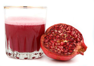 pomegranate juice reduce to abdominal fat