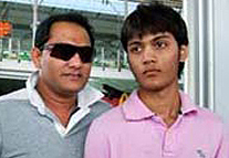 the ex captain of indian cricket team and the present
