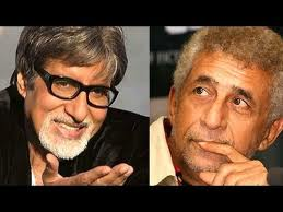 amitabh-bachchan and naseeruddin shah-first-time-together