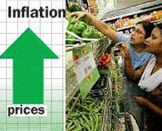 government shows concern for high inflation