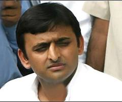 akhilesh reached random for inspection of  wheat purchase centere