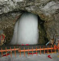 snow affected the prepartion of amarnath yatra