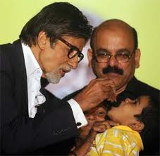 polio amitabh, amitabh to be awarded for contribution in polio eradication