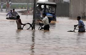 on friday morning in delhi due to the heavy rain