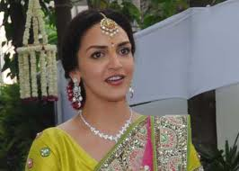 esha deol excited about first karva festival