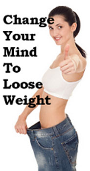 Be positive about yourself and lose weight