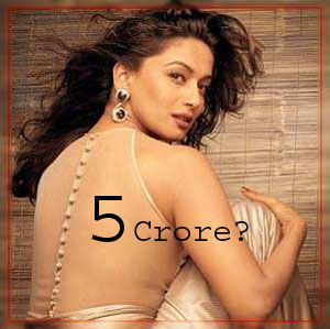 madhuri demands 5 crore for a film