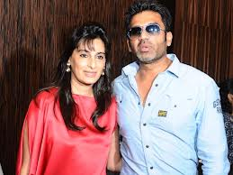 sunil shetty wife open home interior store
