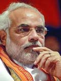 modi will not join national executive meeting