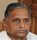 mulayam refuse to comment the presidential election