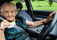 foreign old female driver breaks traffic rules 1500 times