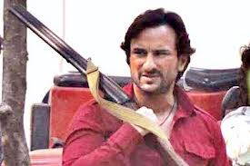 saif and sonakshi first along with movie bullet raja