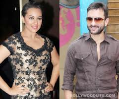 sonakshi in lover boy with saif